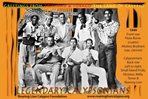 Legendary Calypsonians